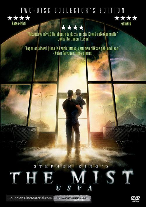 The Mist - Finnish DVD movie cover