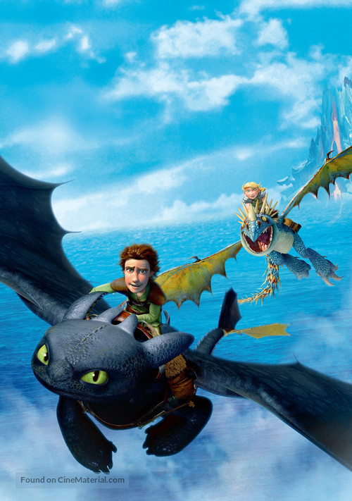 How to Train Your Dragon - Key art