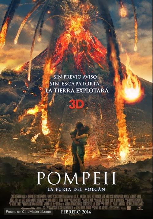 Pompeii - Argentinian Movie Poster