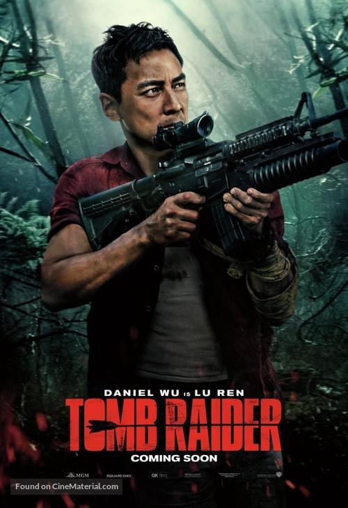 tomb raider british movie poster
