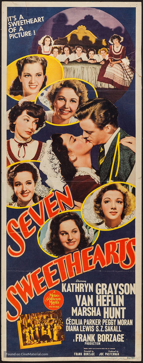 Seven Sweethearts - Movie Poster