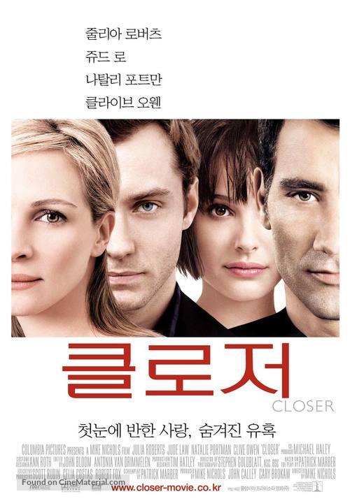 Closer - South Korean poster