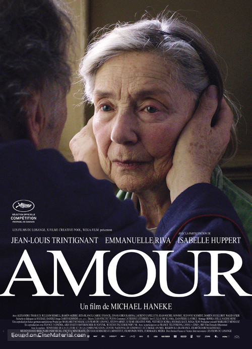 Amour - French Movie Poster