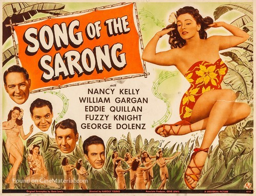 Song of the Sarong - Movie Poster
