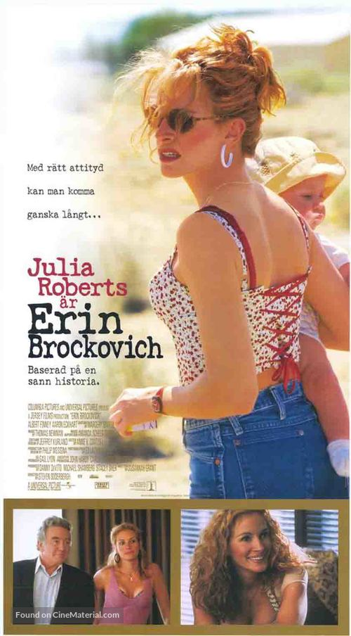 Erin Brockovich - Swedish Movie Poster