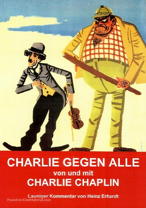 His New Job - German Movie Poster