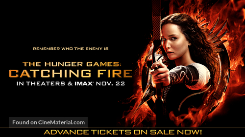The Hunger Games: Catching Fire - Movie Poster