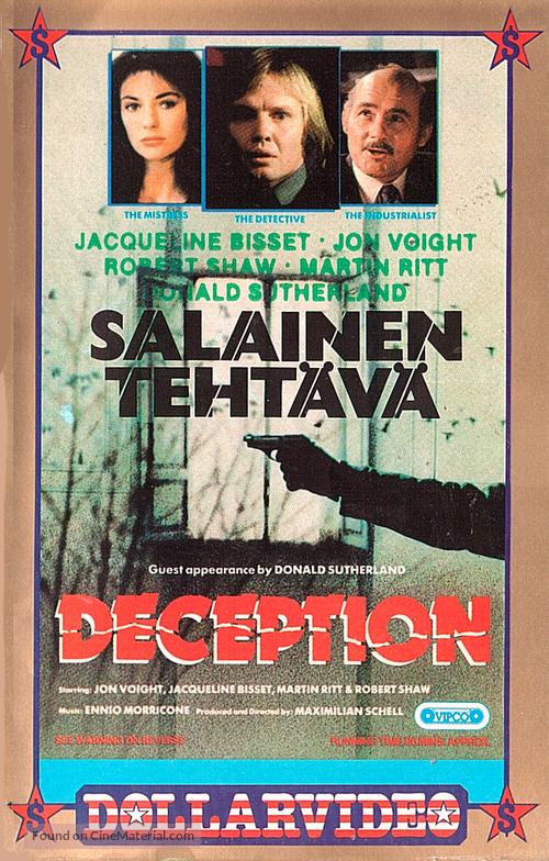 Der Richter und sein Henker - Finnish Movie Cover
