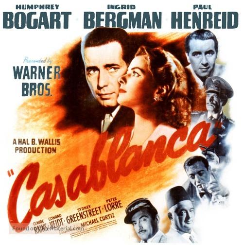 Casablanca - Movie Poster
