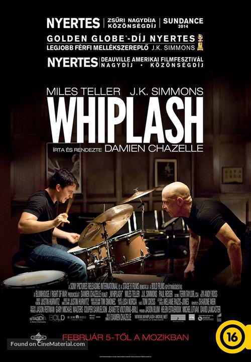 Whiplash - Hungarian Movie Poster