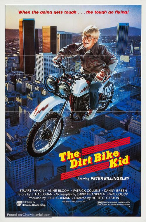 The Dirt Bike Kid - Movie Poster