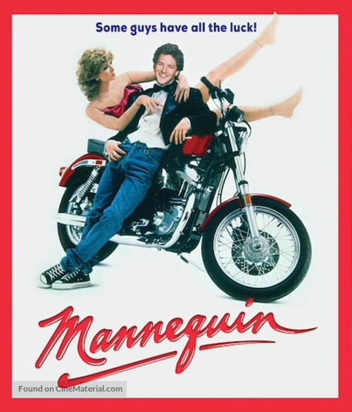 Mannequin - Blu-Ray movie cover