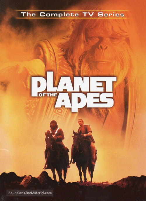 """""""Planet of the Apes"""" - DVD movie cover"""