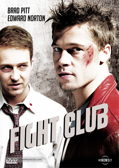 Fight Club - German DVD cover
