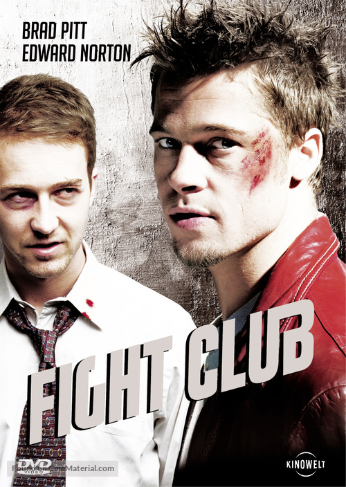 Fight Club - German DVD movie cover