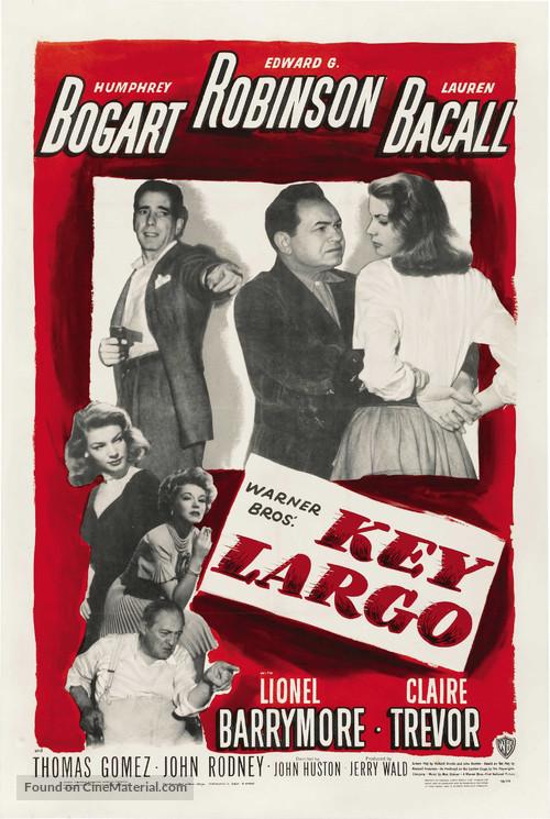 Key Largo - Movie Poster