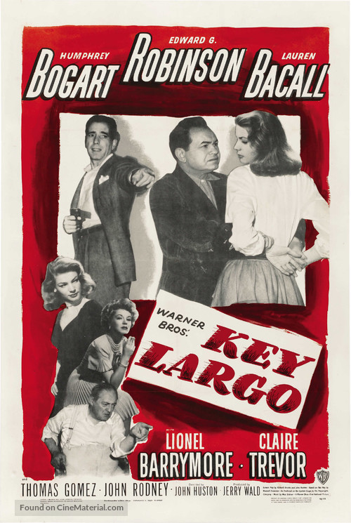Key Largo - Movie Poster