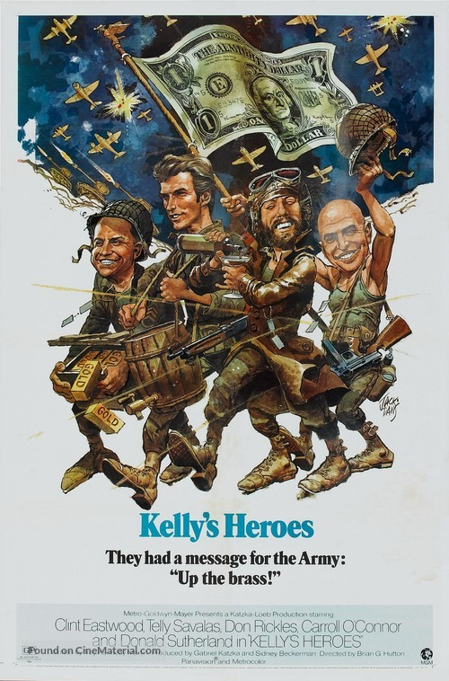 Kelly's Heroes - Movie Poster