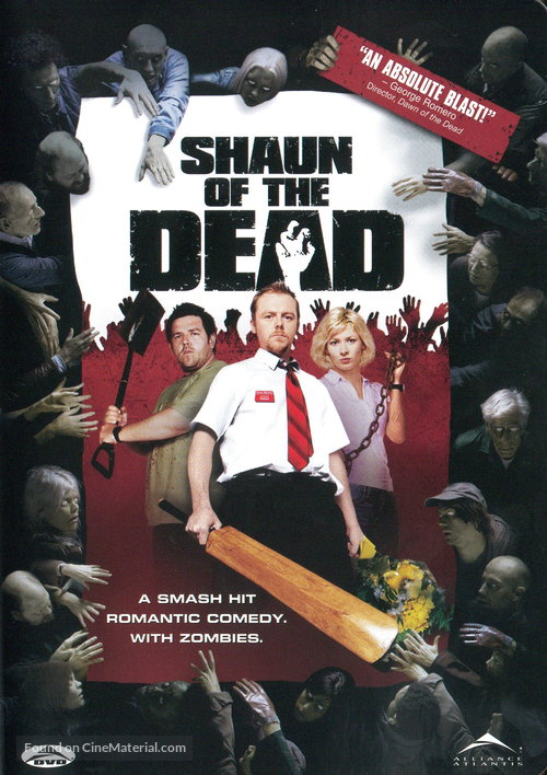 Shaun of the Dead - Canadian Movie Cover