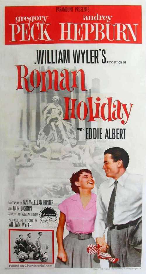 Roman Holiday - Movie Poster