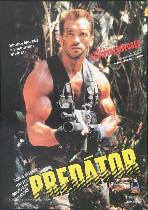 Predator - Czech Movie Poster