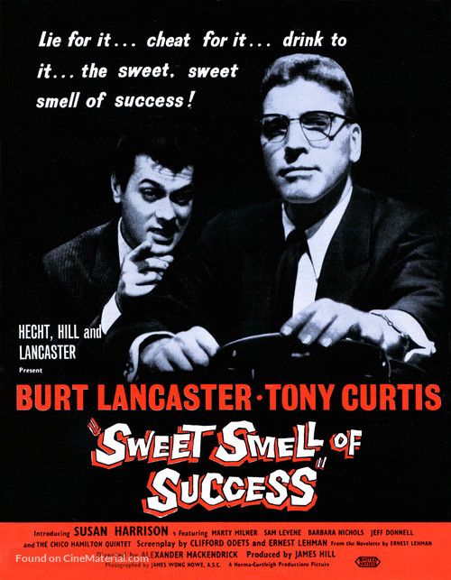 Sweet Smell of Success (1957) movie poster