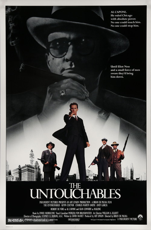 The Untouchables - Movie Poster