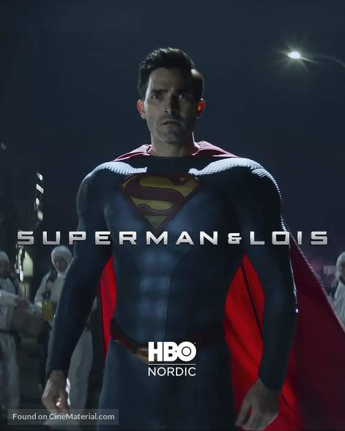 """""""Superman and Lois"""" - Swedish Video on demand movie cover"""