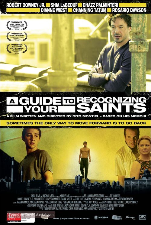 A Guide to Recognizing Your Saints - Australian Movie Poster