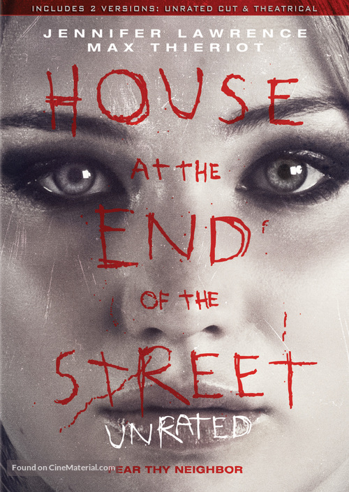 House at the End of the Street - DVD cover