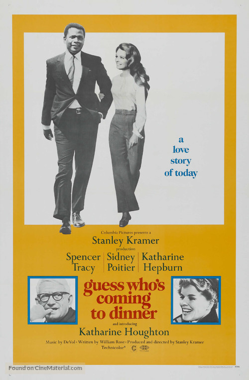 Guess Who's Coming to Dinner - Theatrical movie poster
