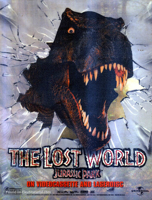 The Lost World: Jurassic Park - Movie Poster
