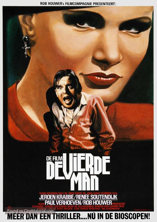 De vierde man - Dutch Movie Poster