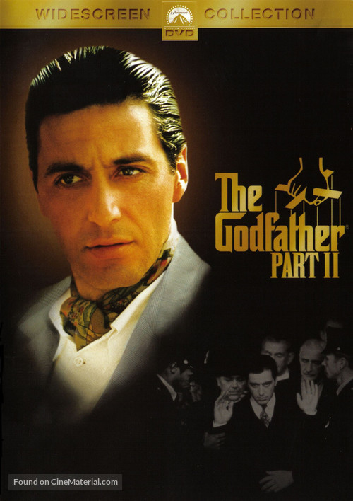The Godfather: Part II - DVD movie cover