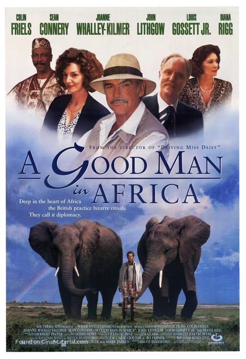A Good Man in Africa - Movie Poster