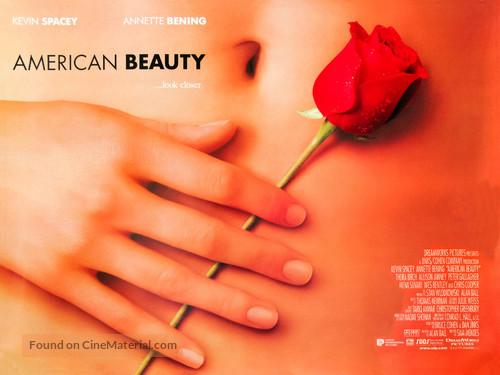 American Beauty - British Movie Poster