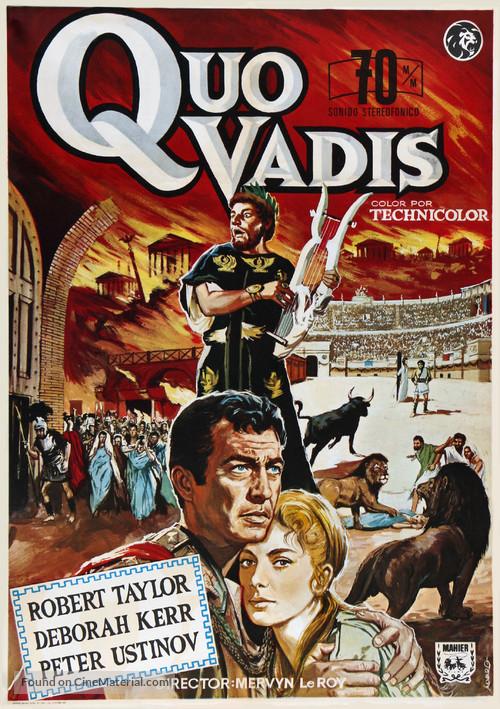 Quo Vadis - Spanish Movie Poster