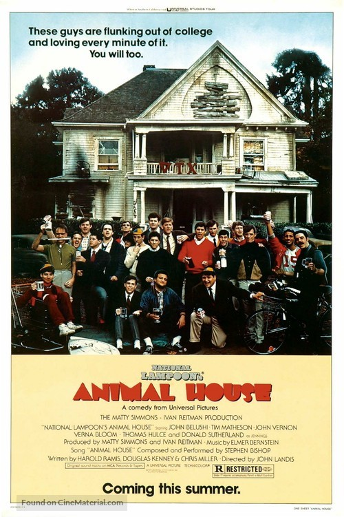 Animal House - Advance movie poster