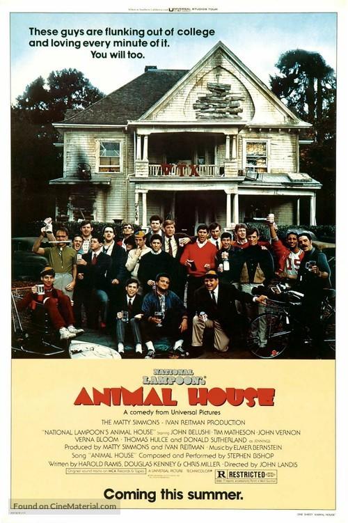 Animal House - Advance poster