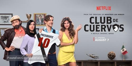 """""""Club de Cuervos"""" - Movie Poster"""