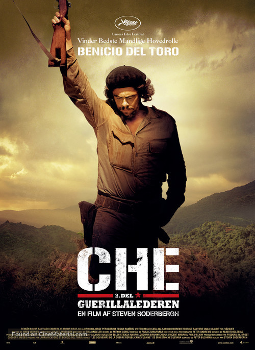 Che: Part Two - Danish Movie Poster