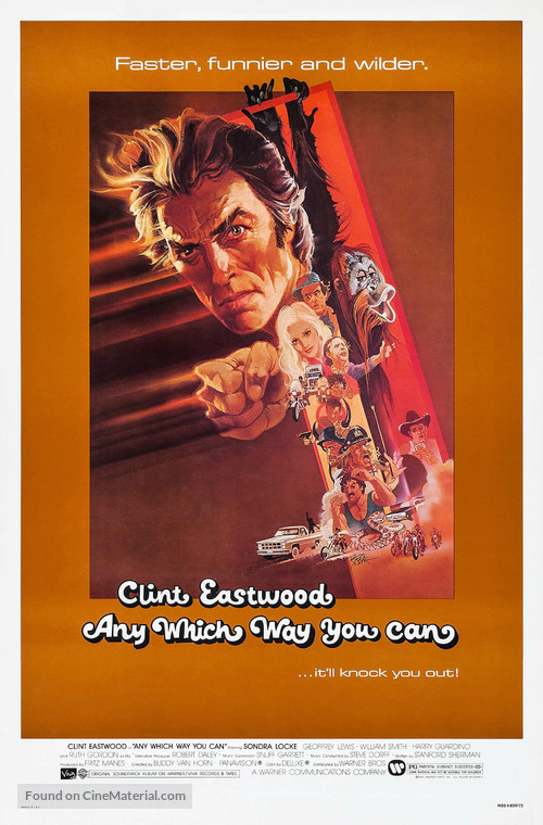 Any Which Way You Can - Movie Poster