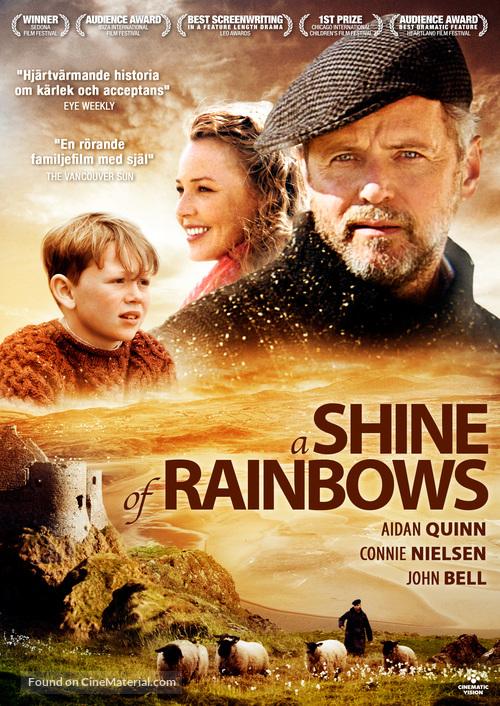 A Shine of Rainbows - Swedish DVD cover