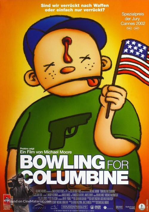 Bowling for Columbine - German Movie Poster