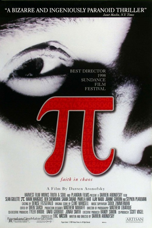 Pi - Movie Poster