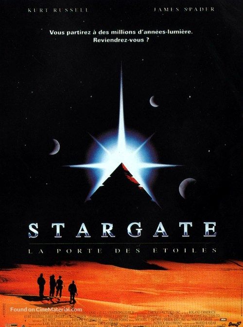 Stargate - French Movie Poster