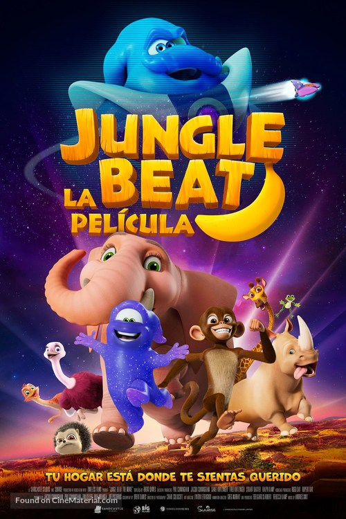 Jungle Beat: The Movie - Spanish Movie Poster