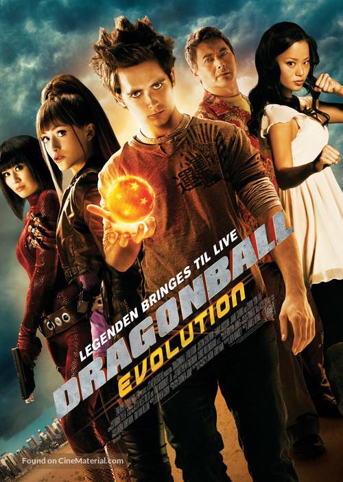 Dragonball Evolution - Theatrical movie poster