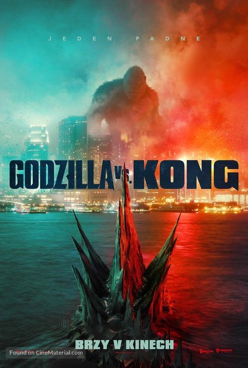 Godzilla vs. Kong - Czech Movie Poster