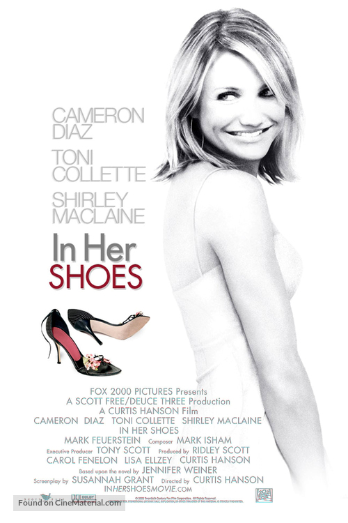 In Her Shoes - British poster